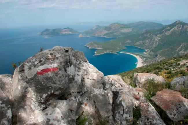 Dünyanın en iyi 10 yürüyüş rotasından biri: Likya Yolu